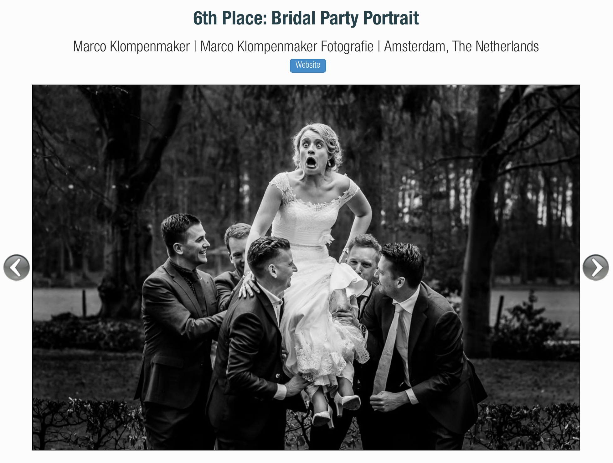 ISPWP Bridal Party Portrait